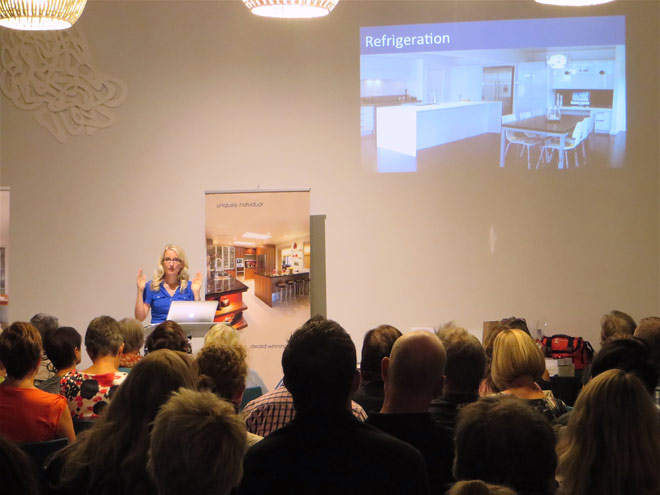 Toni Roberts kitchen design seminar