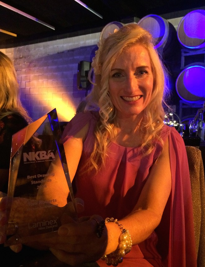 Toni Roberts, National Kitchen Bathroom Assoc Award Winner 2014